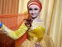Jihan Audy New Pallapa Pakai Jilbab Cantiknya Subhanallah, Ini Foto-fotonya