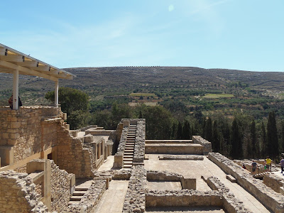 Knossos, knosos, ruins, ancient greek, greece, crete