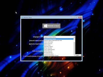 Windows 10 Black Edition v2 April 2016 x64 by KIRK Full Version