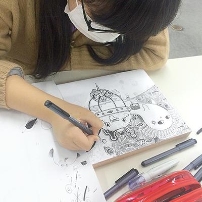 美術クラブ 横浜美術学院の中学生向け教室 ぜんぶ自分でつくる「自由制作」11