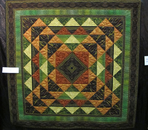 Outback Quilt Free Pattern designed by Jinny Beyer