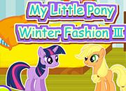 My Little Pony Moda de Invierno 3 juego
