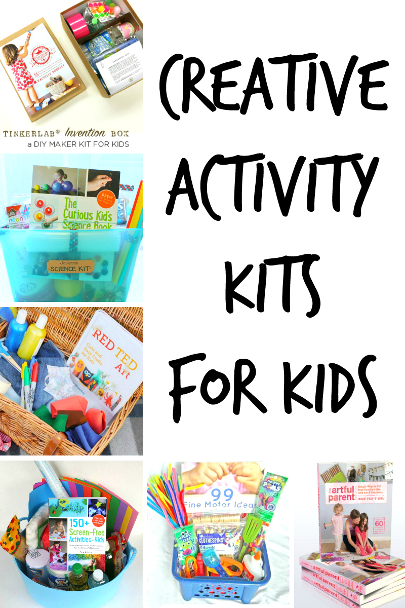 Creative Diy Activity Kits For Kids