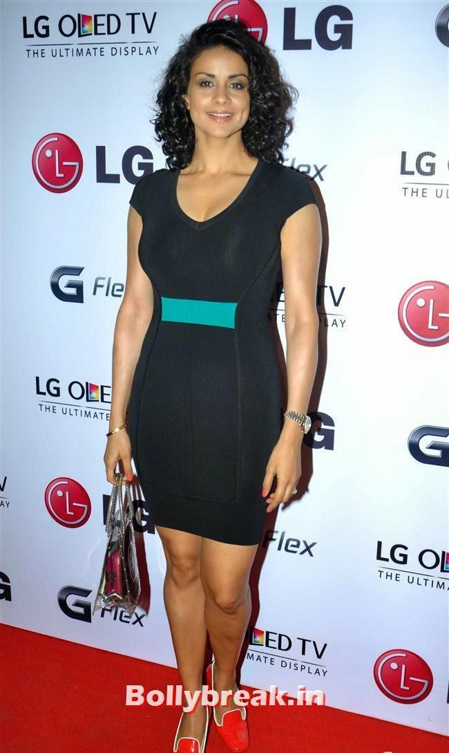 Gul Panag, Celebs at LG G Flex Smartphone Launch