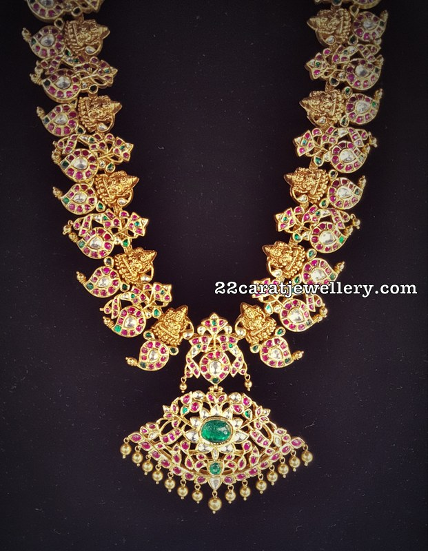 Lakshmi Mango Necklace by Shankar Lal Jewellers