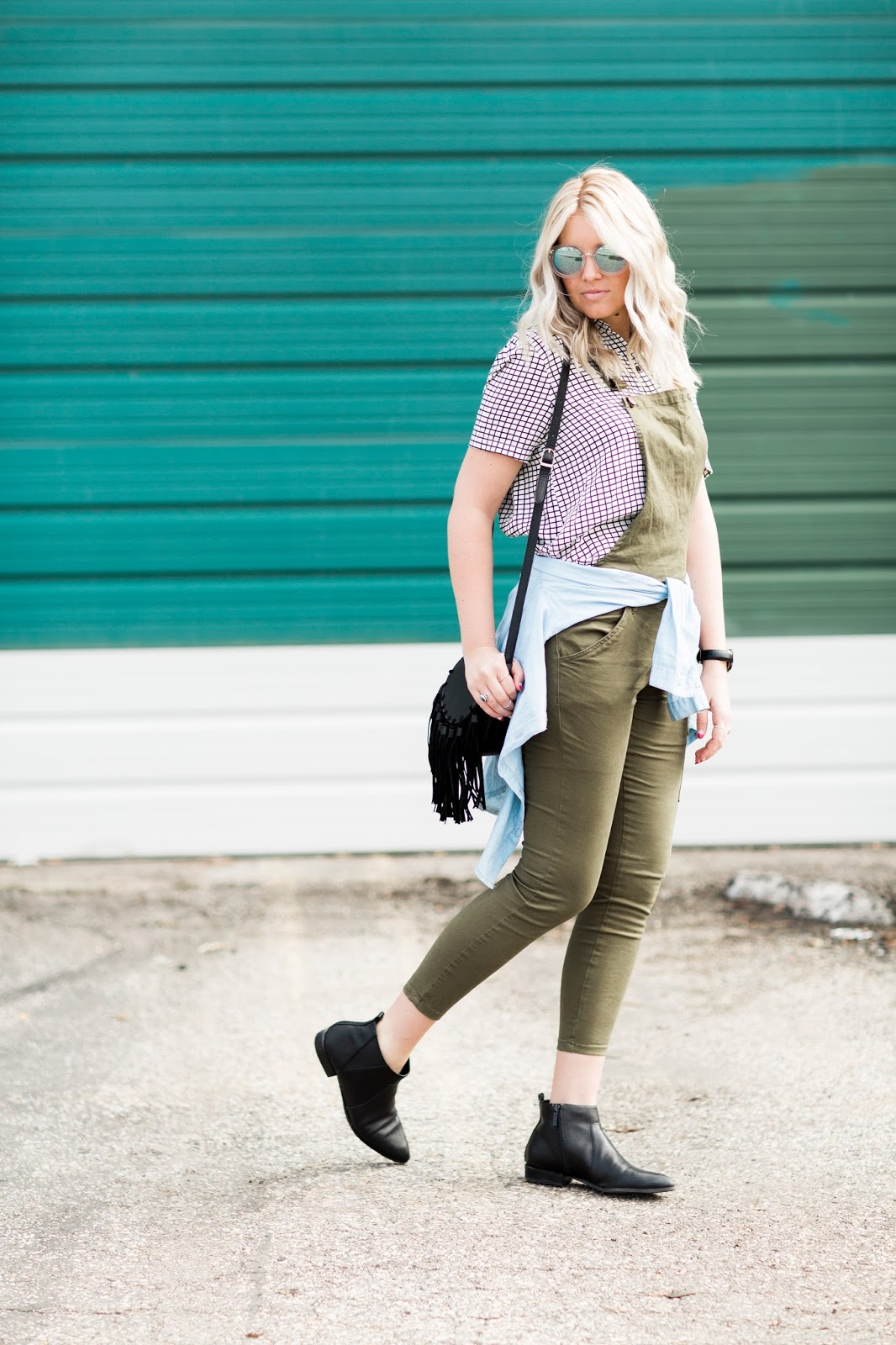 Fringe Purse, Utah Fashion Blogger, Black Booties