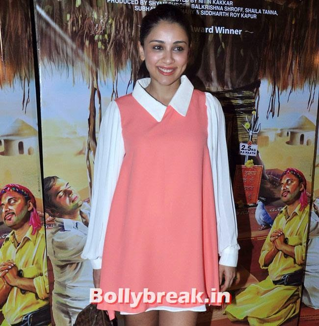 Amrita Puri, Vidya Balan, Tabu at Special Screening of movie 'Filmistaan'