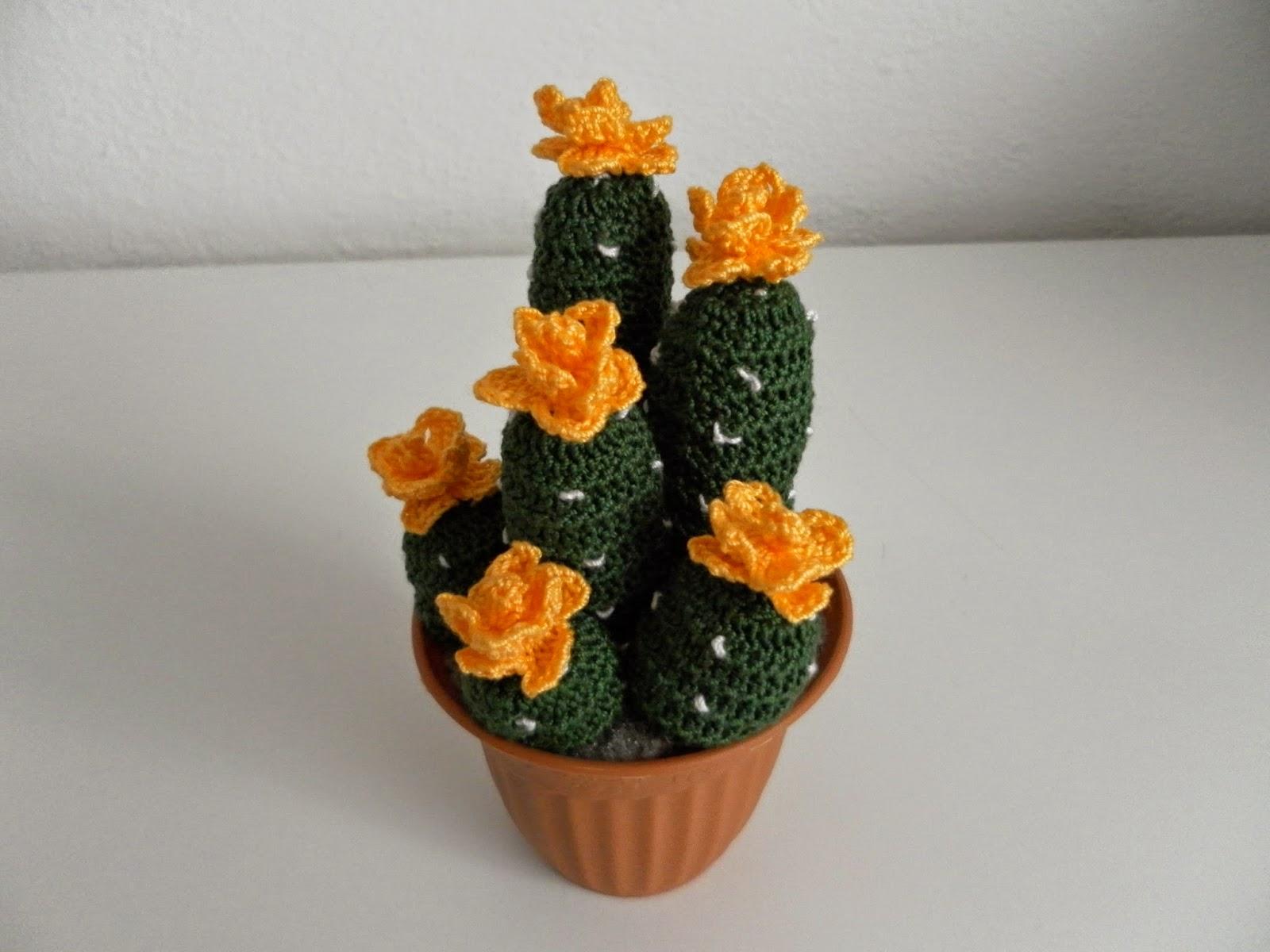 Il blog di sam how to crochet a succulent plant with for Il blog di sam piante grasse