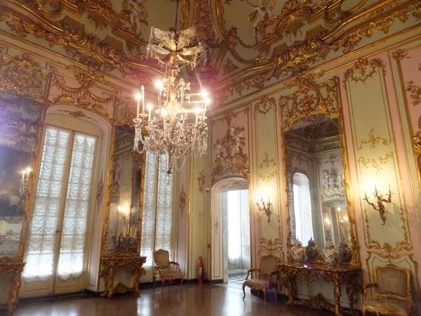 gênes genova via balbi palazzo reale intérieur