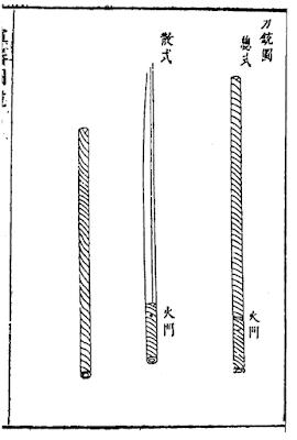 Ming Dynasty gunblade