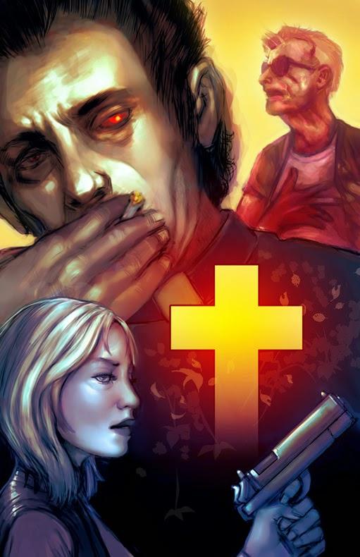 art poster preacher comics
