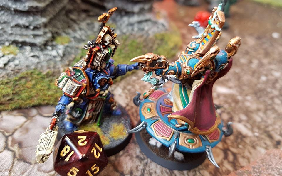 Schild A Thousand Sons Tzaangors Bits