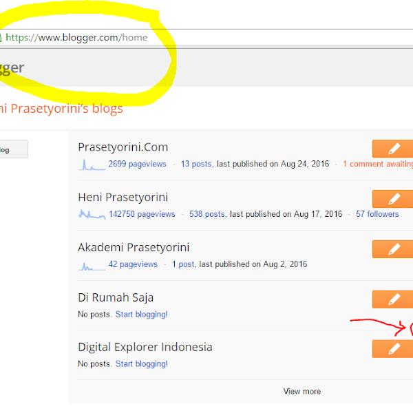 Patut Dicoba! Meningkatkan Page View Blog Dengan Memasang Widget Random Post