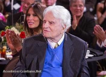 Billy Graham homenajeado en cumpleaños