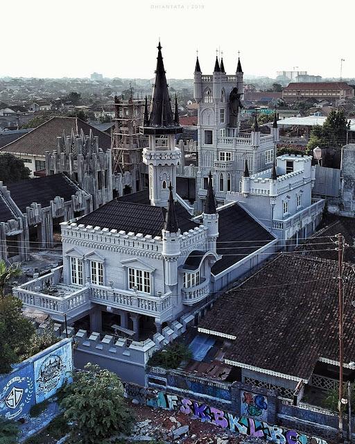 Bangunan Gothic Sayidan - Gereja Gothic Sayidan Gondomanan Jogja