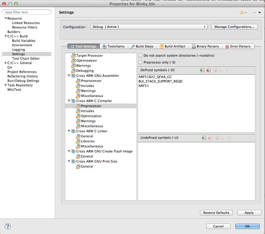 Embedded Software Development: nRF51/nRF52