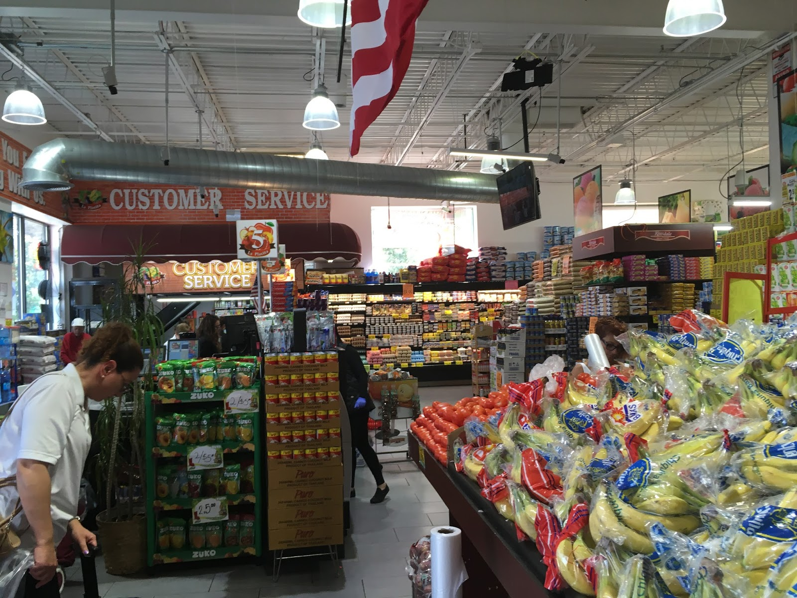 Grocery Store Sections