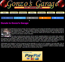 Donate to Gonzo's Garage