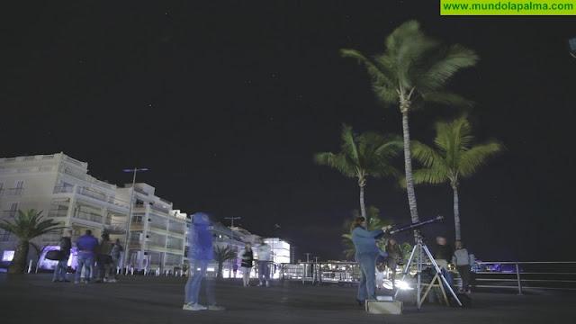 Apaga la luz y enciende las estrellas La Palma 2018