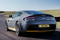 Aston Martin V12 Vantage S (2017) Rear Side