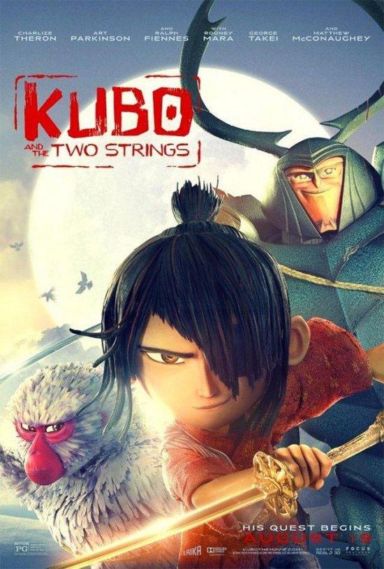 KUBO AND THE TWO STRINGS (2016) คูโบ้และมหัศจรรย์พิณสองสาย