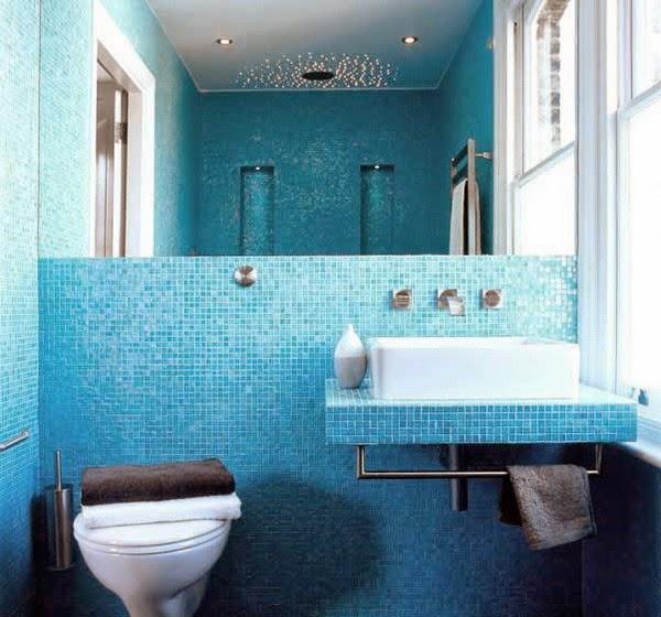 Modern Bathroom Design Ideas 2014: Foundation Dezin & Decor...: 12 Modern & Bright Bathroom