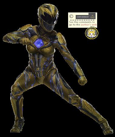 render Yellow Ranger