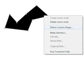 ah sudah usang sekali admin tidak ada kabar Cara menciptakan Custom Shape di Photoshop