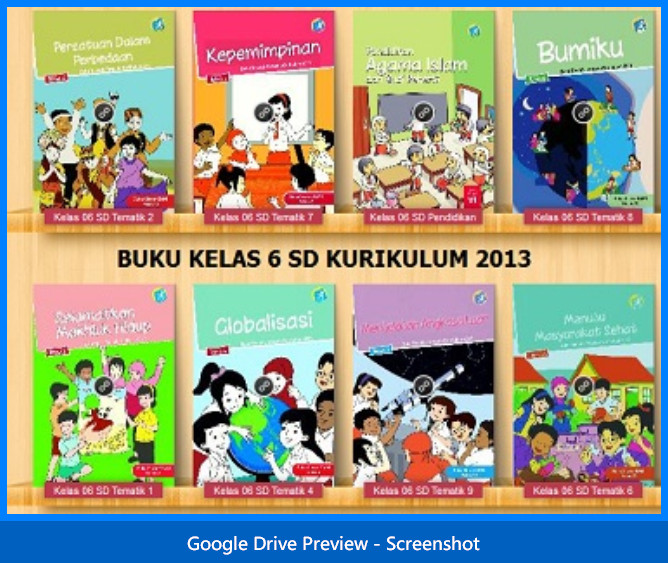Buku Guru dan Siswa SD Kelas 6 Kurikulum 2013 Lengkap