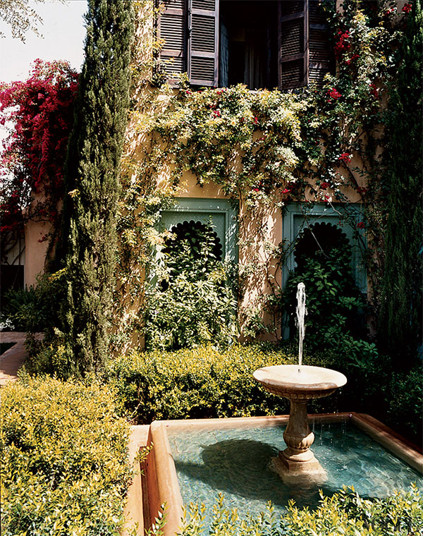 this is glamorous - Marella Agnelli - Vogue - Marrakech