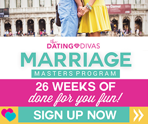 The Dating Divas' Marriage Masters Program is one of my tried and true awesome online marriage clubs. You should always be working on your marriage even if it's going great right now!