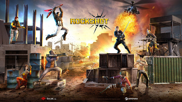 Rockshot el nuevo battle royale, ya disponible en steam !