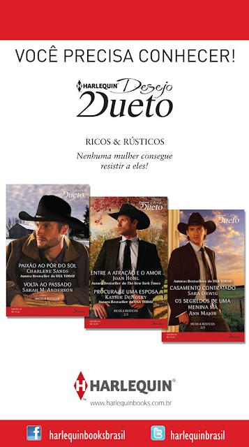 Kit Ricos & Rústicos Harlequin Desejo Dueto