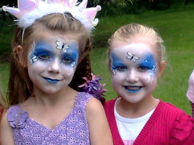 Garden Fairy Face Paint