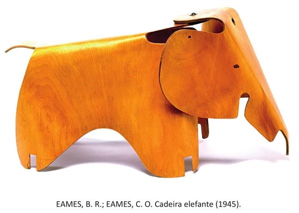EAMES B R EAMES C O Cadeira elefante 1945