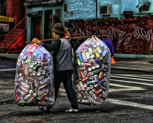 All about the Chinese: The Top 5 Reasons Chinese People Collect Cans - Why  do they do it?