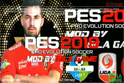 FTS Mod PES 2019 Full Timnas Indonesia Liga 1, 2 dan 3 by Gila Game