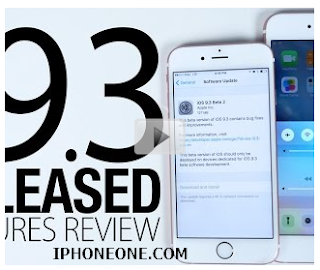 Before the update to IOS 9.3 this topic the most important features of the new system 2016