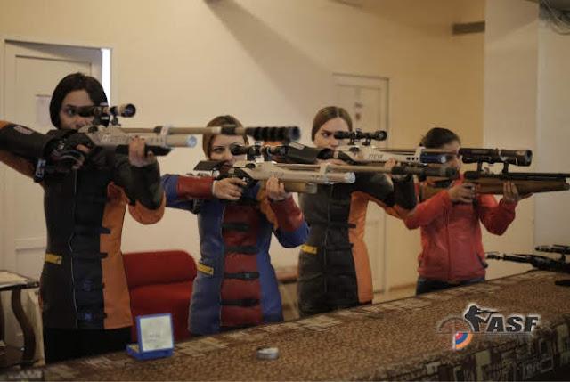 Armenios participarán en el campeonato mundial de tiro de Corea