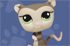 LPS Possum Figures