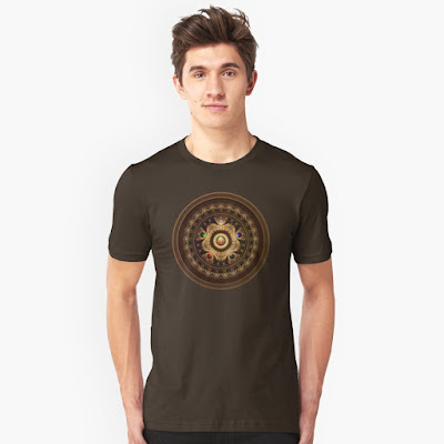 fractal magic the gathering shirt