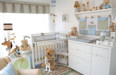 quarto bebe urso