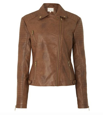 House of Fraser Linea Weekend Dawn PU Biker Jacket