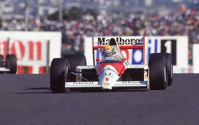Ayrton Senna McLAREN Honda MP 4-5