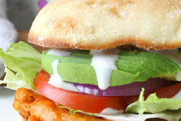 ULTIMATE VEGAN BUFFALO CAULIFLOWER SANDWICH