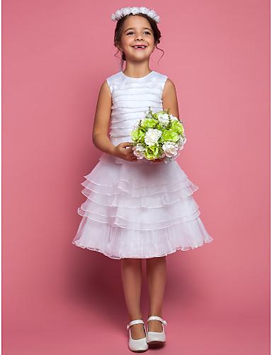 vestidos de comunion para niña Cortos