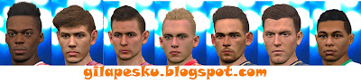 PES2016. Wonderkid face 2017 to Pes 2016