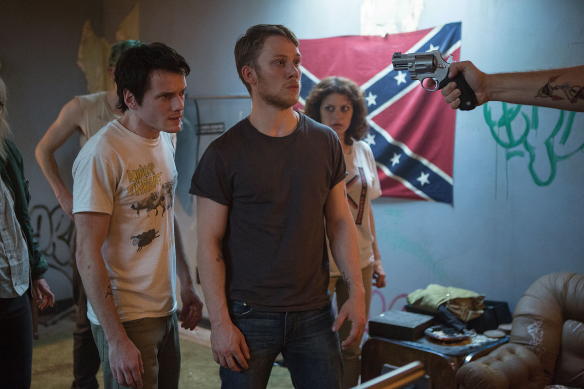 Green Room -  pelicula Jeremy Saulnier - protagonistas