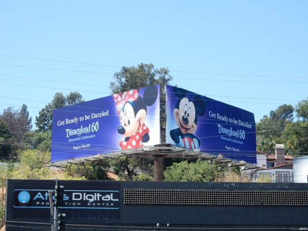 Get ready to be dazzled Disneyland 60 billboards