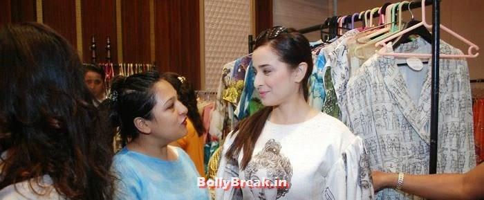 Simone Singh, Simone Singh & Tara Sharma Latest Hot Pics at Exhibititon